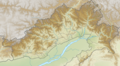 India Arunachal Pradesh relief map.png