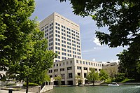Indiana Government Center North and Indianapolis Canal Walk.jpg