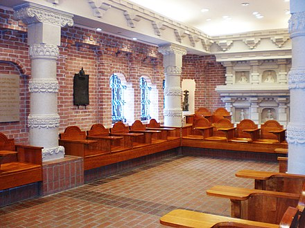 The Indian Classroom, one of 31 Nationality Rooms in the Cathedral of Learning Indianroom2.jpg