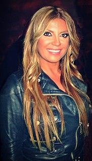 Indira Radić Serbian pop-folk singer