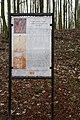 Informační tabule vedle kříže na cestě k Božímu hrobu, u zahradní osady, Slaný, okr. Kladno, Středočeský kraj 03.JPG