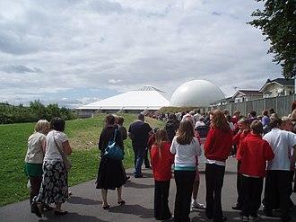 Winchester Science Centre - Image: Intech entrance P1010051