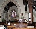 Interior of St Mary's Church, Selmeston - geograph.org.uk - 1005997.jpg