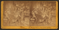 "Interior view showing ""hermit"" in rocking chair near stove, by C. H. Shute & Son.png"