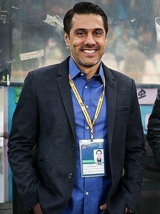 Afshin Peyrovani - Image: Iran vs. India 2018 FIFA World Cup qualification, Afshin Peyrovani