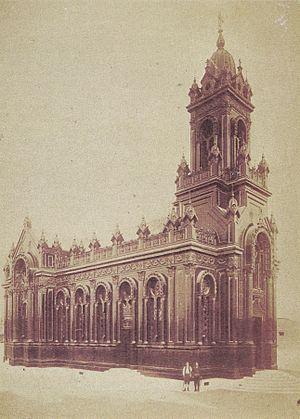 Bulgarian St. Stephen Church - Image: Iron church St Stefan 1898