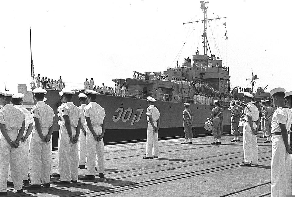 Israel Navy Frigate Misgav1955