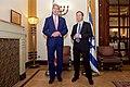 Israeli Opposition Leader Herzog Listens as Secretary Kerry Addresses Reporters Before a Meeting in Jerusalem (22909654679).jpg