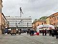 Italie, Ravenne, Piazza del Popolo, Palazzo Communale en restauration (48087010446).jpg