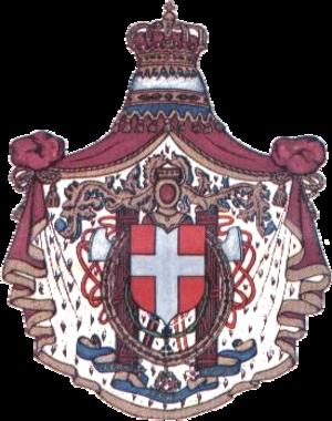 Italian occupation of Majorca - Image: Italy greater COA 1929