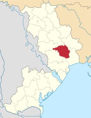 Ivanivka Raion, Odessa Oblast - Image: Ivanivskyi Ode Raion