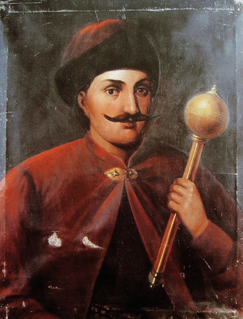 Ivan Vyhovsky Hetman of Ukrainian Cossacks