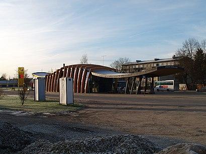 Kuidas ühistranspordiga sihtpunkti Jõgeva Bussijaam jõuda - kohast