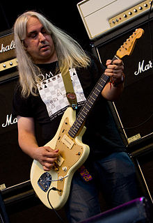J Mascis at Virgin Festival in 2009.