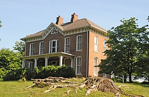 National Register of Historic Places listings in Barbour County, West Virginia - Image: J.N.B. CRIM HOUSE, ELK CITY, BARBOUR COUNTY, WV