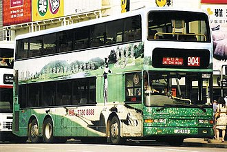 Duple Metsec - KMB's Dennis Trident 3 with Duple Metsec DM5000 body