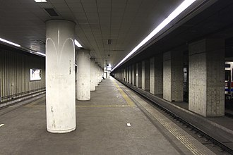 Higashi-Narita Station - Image: JP Chiba Higashi Narita Station Tracks Past Narita Airport Station