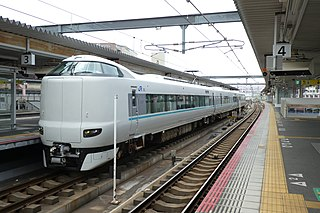 287 series Electric multiple unit train type operated in Japan