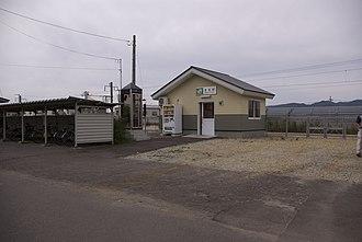 Yomogita Station - Yomogita Station in September 2009