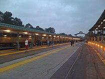 Jacksonville Amtrak station train 91 stop.jpg