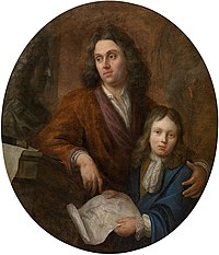 Jacob Denys - De beeldhouwer Willem Kerricx en zijn zoon Willem Ignatius.jpg