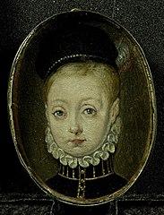 Jacobus I (1556-1625), de latere koning van Engeland, als kind