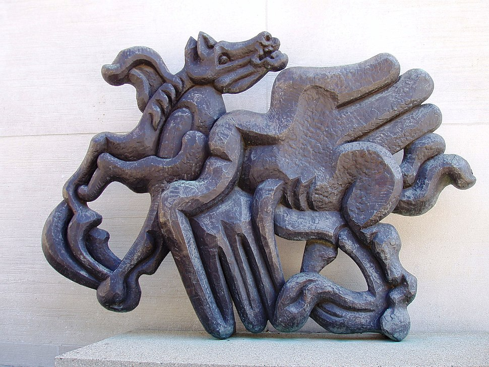 Jacques Lipchitz, Birth of the Muses (1944-1950), MIT Campus