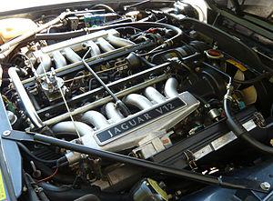 Jaguar V12 engine - Image: Jaguar 5.3 V12 Engine