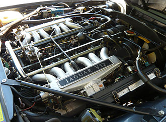 Jaguar V12 engine - Image: Jaguar 5.3 V12 Engine
