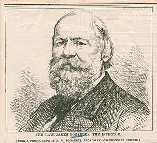 James Bogardus American inventor and architect