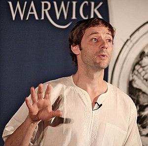 James Flint (novelist) - Flint at the University of Warwick in 2011