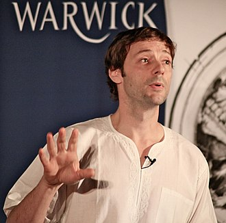 James Flint (novelist) - Flint at the University of Warwick in 2011