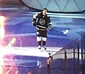 James Neal entrance at the 2016 NHL All-Star Game (24751632146) (cropped).jpg