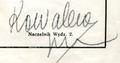 Jan Kowalewski signature.png