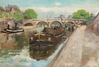 The Pont Neuf in Paris