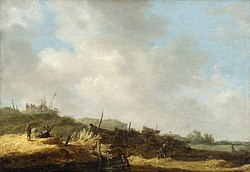Jan van Goyen: Dune Landscape