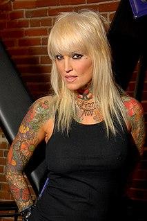 Janine Lindemulder American pornographic actress