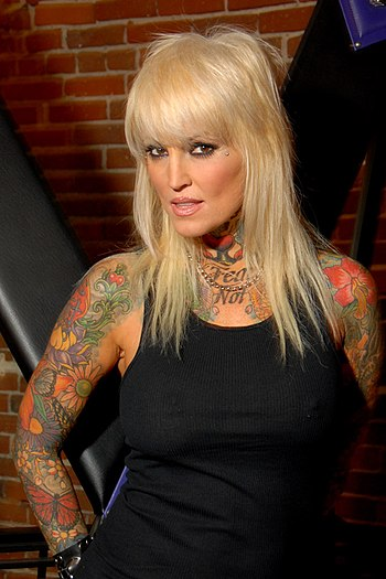 English: Janine Lindemulder, Los Angeles, CA o...