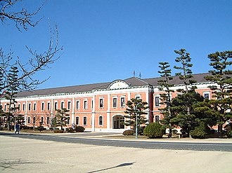 Imperial Japanese Naval Academy - The building of Imperial Japanese Naval Academy