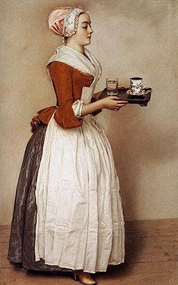 Jean-Étienne Liotard - The Chocolate Girl - WGA13062