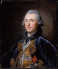 Presumed Portrait of Chevalier de Damery