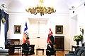 Jefa de Estado se reúne con Presidente de la República Eslovaca (28416499140).jpg