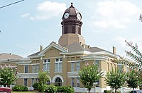 Jeff Davis County courthouse, Hazlehurst, GA, US