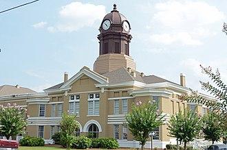 Jeff Davis County, Georgia - Image: Jeff Davis County courthouse, Hazlehurst, GA, US
