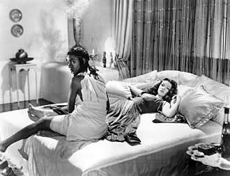 Sundown (1941 film) - Jeni Le Gon and Gene Tierney in Sundown (1941)