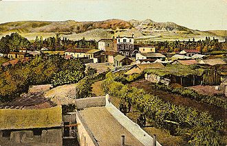 Jericho - Postcard image depicting Jericho in the late 19th or early 20th century