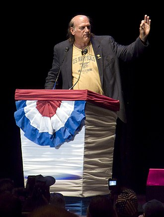Jesse Ventura - Ventura orating at the Rally for the Republic in September 2008.