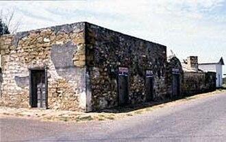 Trevino–Uribe Rancho - Jesus Trevino Fort, San Ygnacio, Texas photo: Mario Sanchez