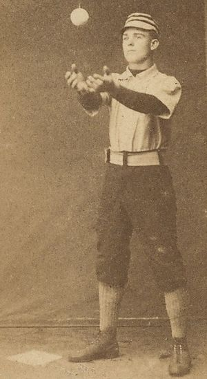 Jim Donnelly (baseball) - Jim Donnelly Old Judge baseball card, 1887