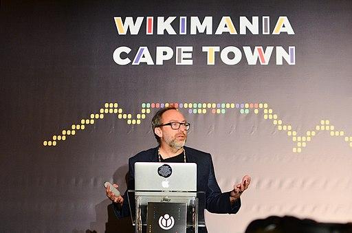 Jimmy Wales. Wikimania 2018. Photo 2 by Alina Vozna